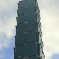 V rokoch 2004 až 2009 najvyššia budova na svete. Pred koncom roka 2016 prišla aj o prvenstvo najrýchlejšieho výťahu na svete (61 km/h), Taiwan