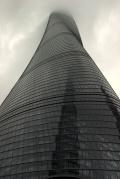 V 2. najvyššiej budove na svete, Shanghai Tower, Čína (⇑ 632 m) sme sa vyviezli na vyhliadkovú plošinu 1. najrýchlejším výťahom na svete
