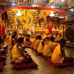 Pobyt v budhistickom kláštore