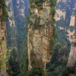 "3. najuchodenejší deň FasaTrasy - ""Avatar Mountain"" Zhangjiajie"