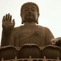 Tian Tan Buddha, najväčší outdoorový bronzový Budha na svete (⇑ 34 m) – Hong Kong