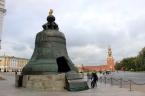 Tsar Bell, najväčší zvon na svete (⇑ 6,14 m; ⇔6,6 m; 216 ton) – Kremeľ, Moskva, Rusko