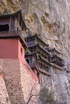 "Hanging Monastery ""z profilu"""