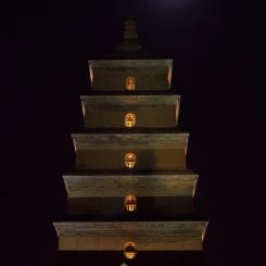 Najznámejšia pagoda v Xiane