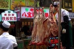 Dobroty v moslimskej štvrti v Xiane