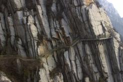 Vysutý chodníček Songshan mountain