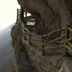 Visutý chodníček na Songshan mountain