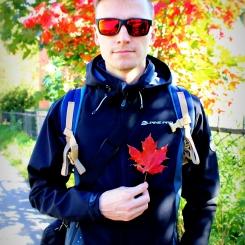Pestrofarebná jeseň v Peterhofe