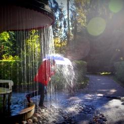Nezabudnite dáždnik v prípade nepriaznivého počasia