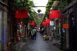 Hipsterská štvrť v Shanghai