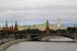 Pohľad na Moskvu ponad rieku Moskva