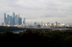 Panoráma hlavného mesta Ruska