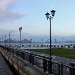 Promenáda pri rieke Kazanka