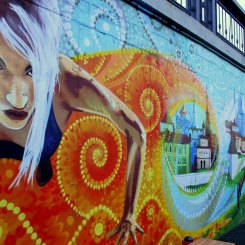 Športové grafitti v Kazani