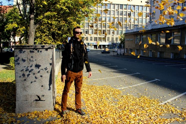 V Jekaterinburgu nás zastihlo krásne jesenné počasie