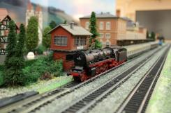 Železničný model v múzeu Transsibírskej magistráli