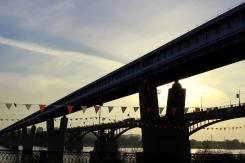 Mosty ponad riekou Ob