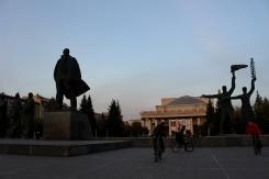 Novosibirskí skejteri a bajkeri