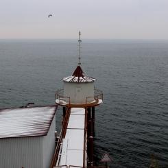 Bajkalské jazero zahalené v hmle