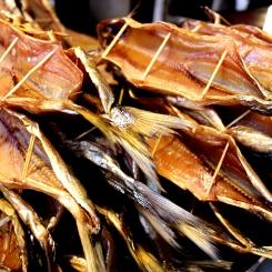 Sušená ryba Omul