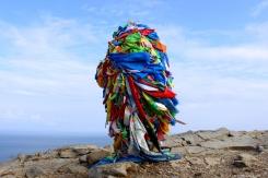 Najštastnejší stĺpik na severe ostrove - Mys Khoboy