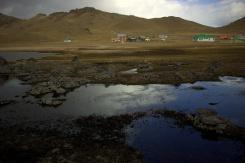 Scenéria pri White Lake
