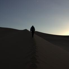 (Skoro) Nočný výstup na piesočné duny