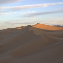 Najvyššie vrcholky na púšti Gobi