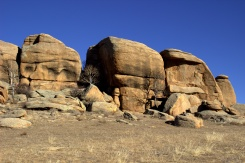 Mohutné skalné útvary