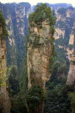 Zhangjiajie Forest Park, park kde sa inšpirovali tvorcovia filmu Avatar