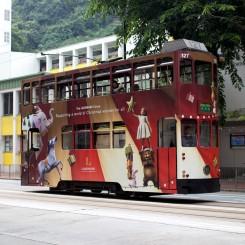 Hong Kong je jediné mesto na svete, kde jazdia výlučne 2-poschodové električky