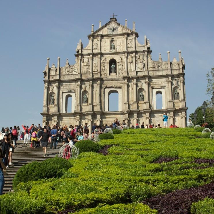 Ruins of St. Paul`s - jedna z dominánt Macaa