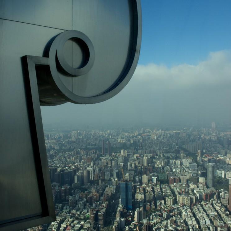 Výhľad z Taipei 101