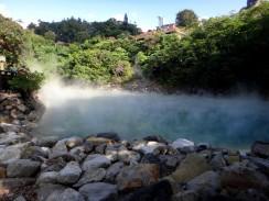 Kúpeľná oblasť Beitou v hlavnom meste Taiwanu