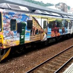 Aj počarbané vlaky vedia byť krásne