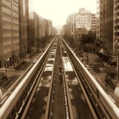 Nadzemka v hlavnom meste Taiwanu