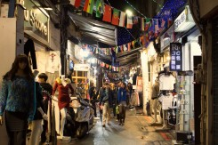 Nákupné uličky v malebnom mestečku Juifen