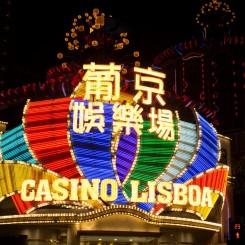 Pestrofarebné Casino Lisboa