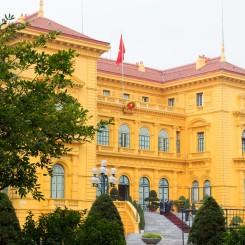 Prezidentský palác vo francúzskom štýle