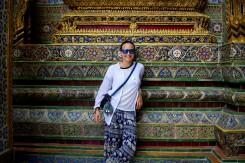 Všakovakými ozdobami je vyzdobený Grand Palace. Ornamenty v pozadí:)