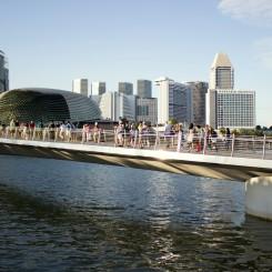 Pohľad na mesto z Marina Bay