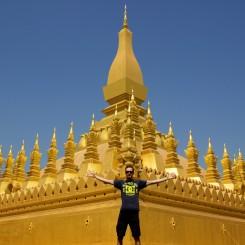 That Luang, pre nás asi najdominantnejší chrám v hlavnom meste