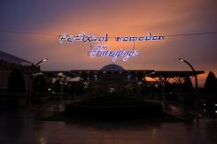 Západ slnka v Putrayaja