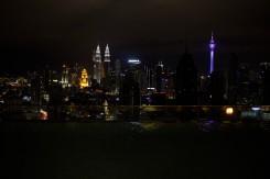 Skyline hlavného mesta Malajzie, Kuala Lumpur