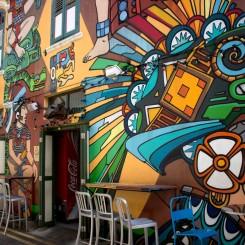 Singapurský street art na úrovni