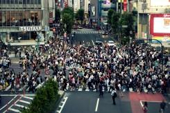 Križovatka Shibuya - vraj najrušnejšia v Tokyu
