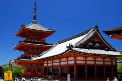 Prech chrámom Kiyomizu Dera