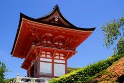 Typická architektúra japonských chrámov