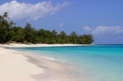 Úžasné pláže na neobývanom ostrove Jaco