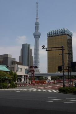 Tokyo Skytree - s výškou 634m je to druhá najvyššia stavba na svete